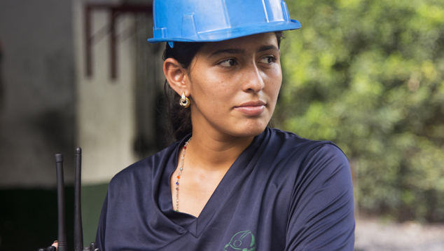 An MTC employee from the local community