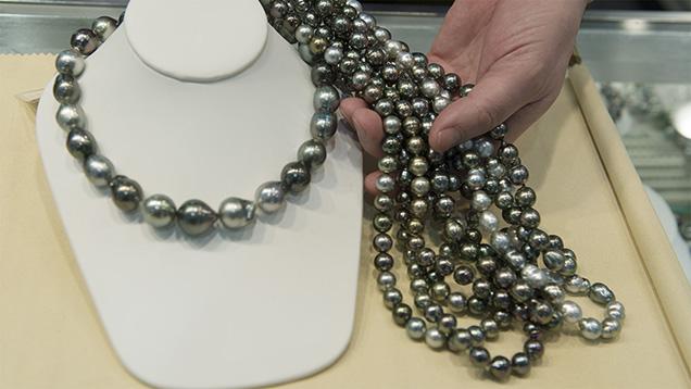 Cultured pearl jewelry