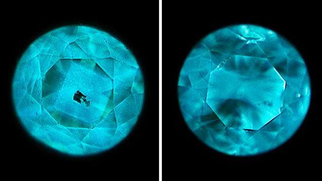 DiamondView imaging of HPHT synthetic diamond melee