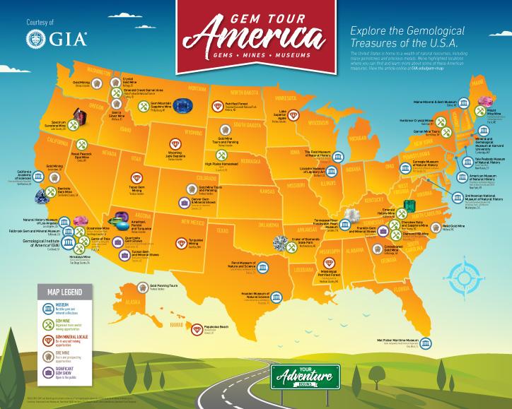 Gem Tour of America