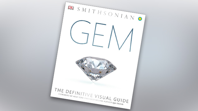 「Gem: The Definitive Visual Guide(宝石の決定的なビジュアルガイド)」の表紙