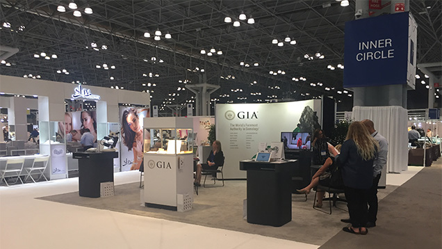 GIA at the JA New York Summer Show starts two days after GIA Career Fair at the Javits. Be sure to visit the booth for the latest information on new products, programs, class offerings and lab services at GIA.