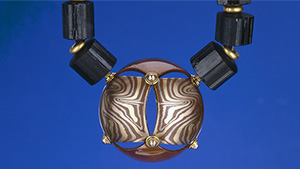 Mokume Gane pendant