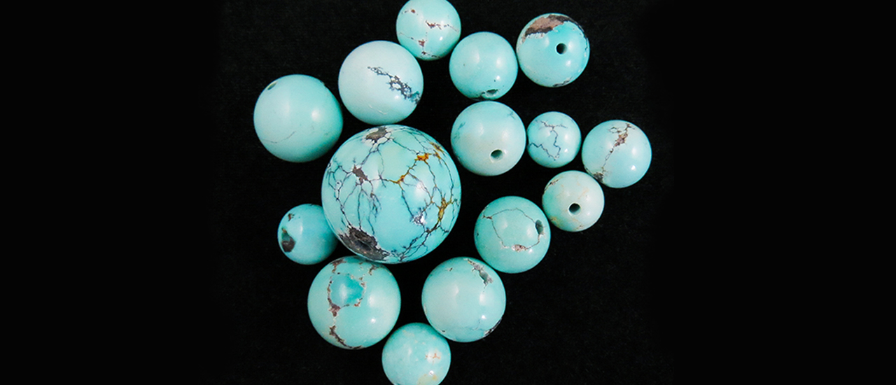 Resin-Filled Turquoise