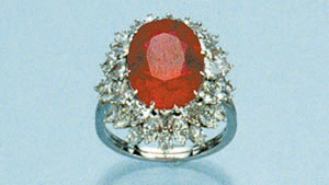 Ruby Ring and Pendant