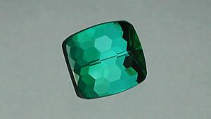 Honeycomb-cut tourmaline