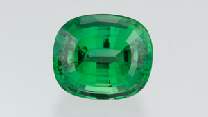 Cushion-cut tourmaline