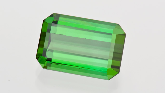 8.76-carat Emerald-cut Tourmaline