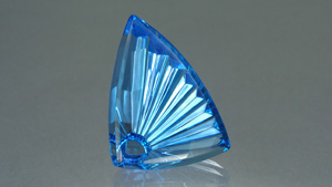 Uniquely Cut Topaz