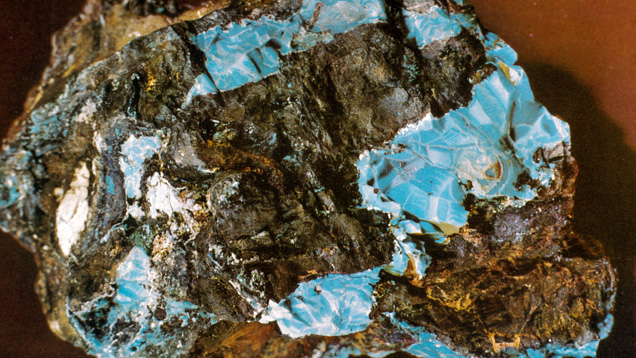 Turquoise in its Host Rock