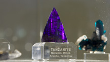 Intense Violet-blue Tanzanite Crystal