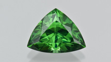 Triangular Green Zircon