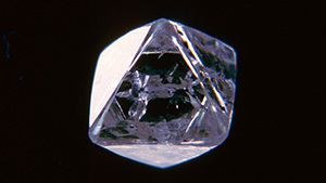 Diamond from Mir Mine in Russia