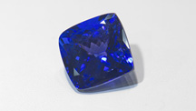 Antique Cushion-Shaped Tanzanite