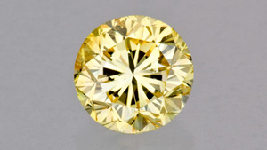 Round Brilliant Fancy Color Diamond