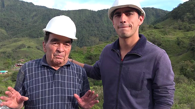 Father and Son emerald miners' interview