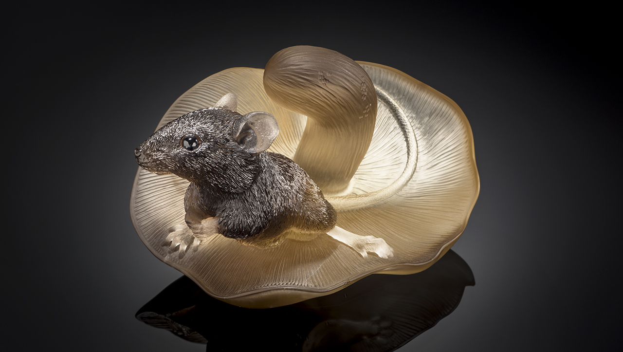 Gerd Dreher mouse carving