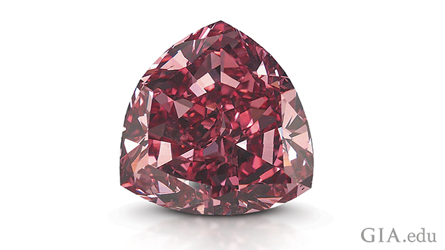 Image of the Moussaieff Red diamond